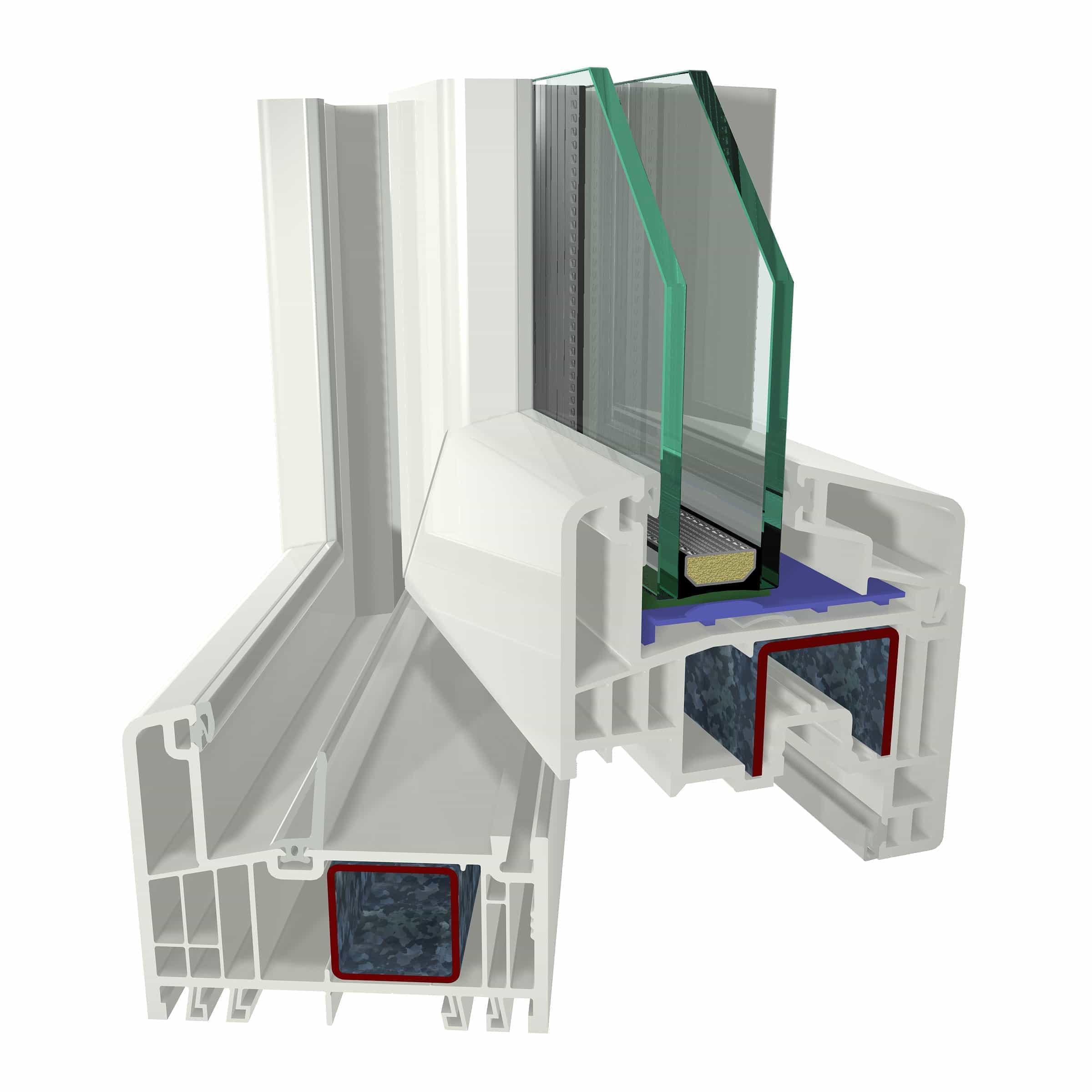 Okna PCV plastikowe z profilem Gealan S9000 - Stolmar