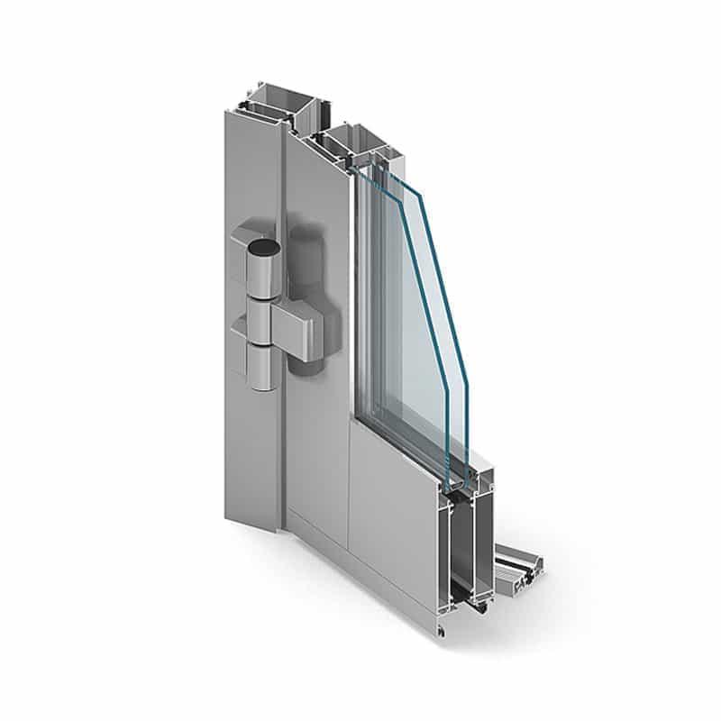 Okna i drzwi aluminiumowe MB60