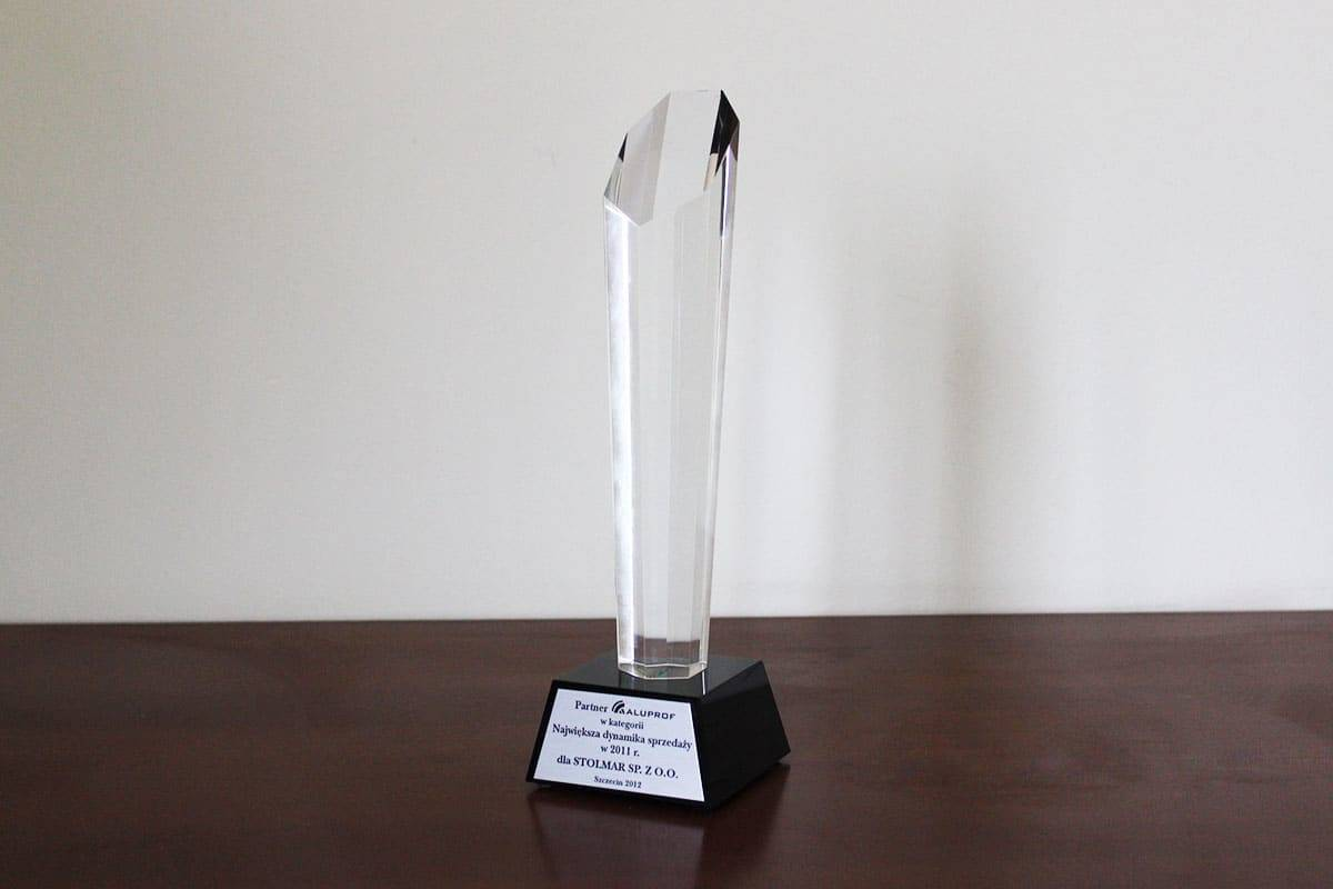The award in the category of ALUPROF partner