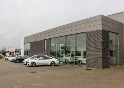 Realizacja Okna PCV Aluminium Stolmar Bydgoszcz dla AJ Motors Bydgoszcz