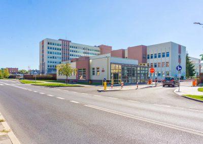 Okna Bydgoszcz Stolmar - Realiizacja Szpital Wojskowy 1