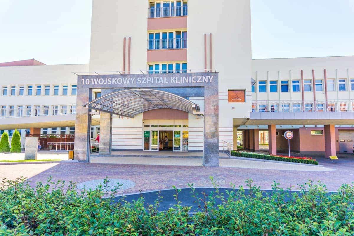 Okna Bydgoszcz Stolmar - Realiizacja Szpital Wojskowy 3