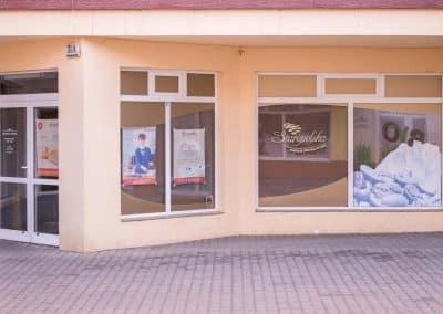 Stolmar Okna Bydgoszcz - Realizacja Okien PVC Cukiernia Staropolska Bygdoszcz - Fordon