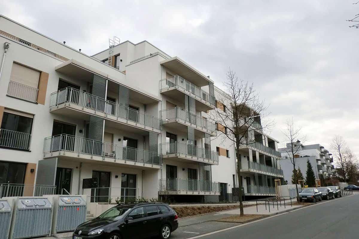 Okna Bydgoszcz - Realizacja Stolmar dla Neubau Wohnbebauung Areal Metana Carree w Bonn 1