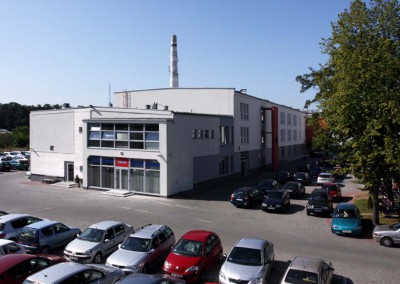 Realizacja z oknami dla Biznes Park w Bydgoszczy - Stolmar.