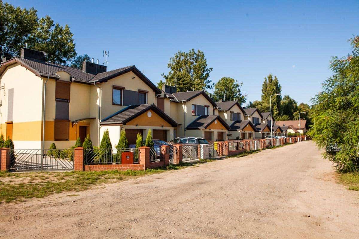 Osiedle mieszkalne na ulicy Kanarkowej