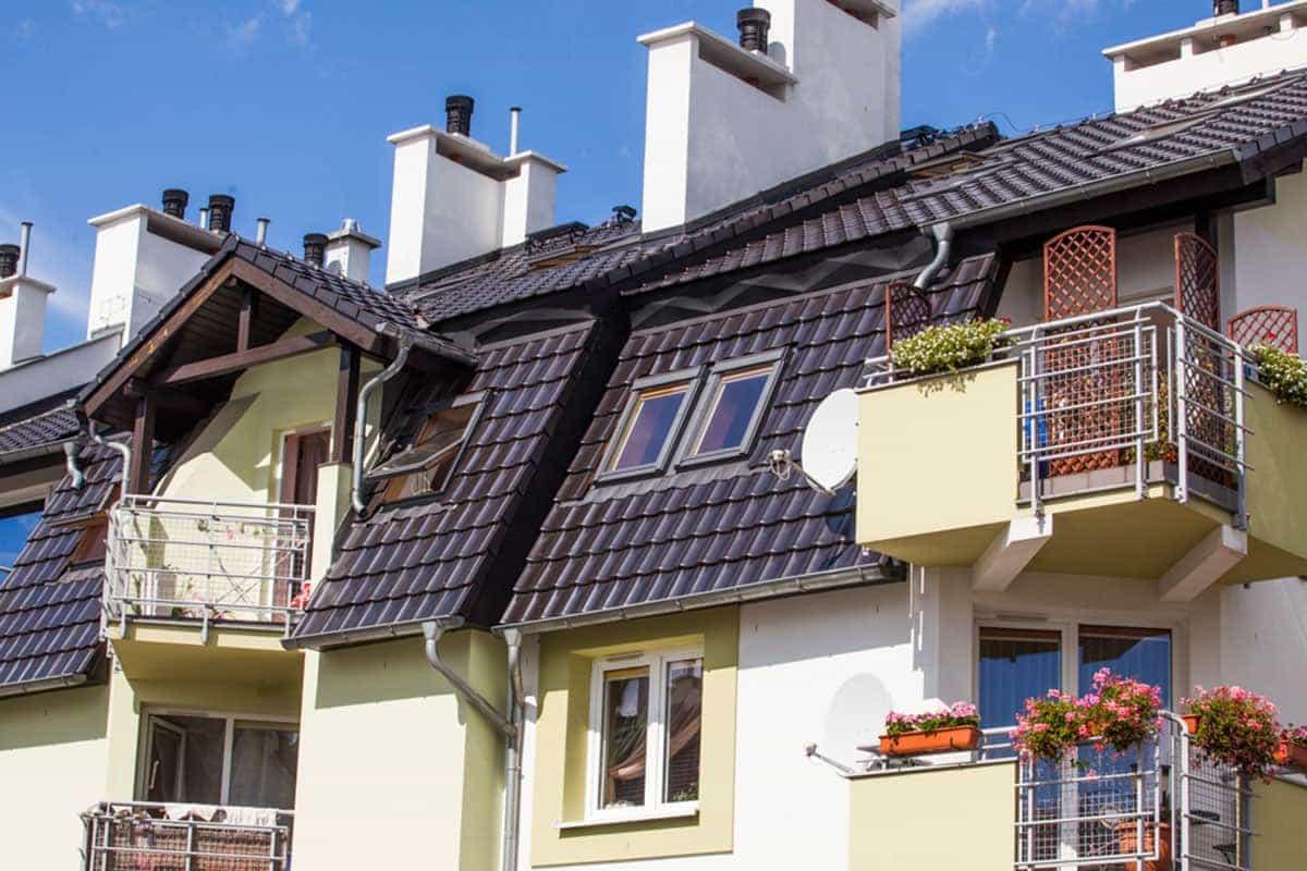Okna Stolmar dla mieszkań w bloku na ul. Mściwoja.