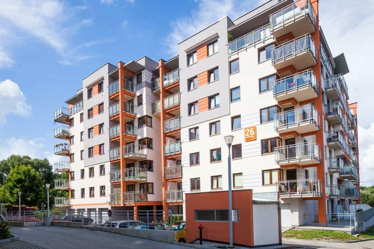 Blok na ul. Stawowej