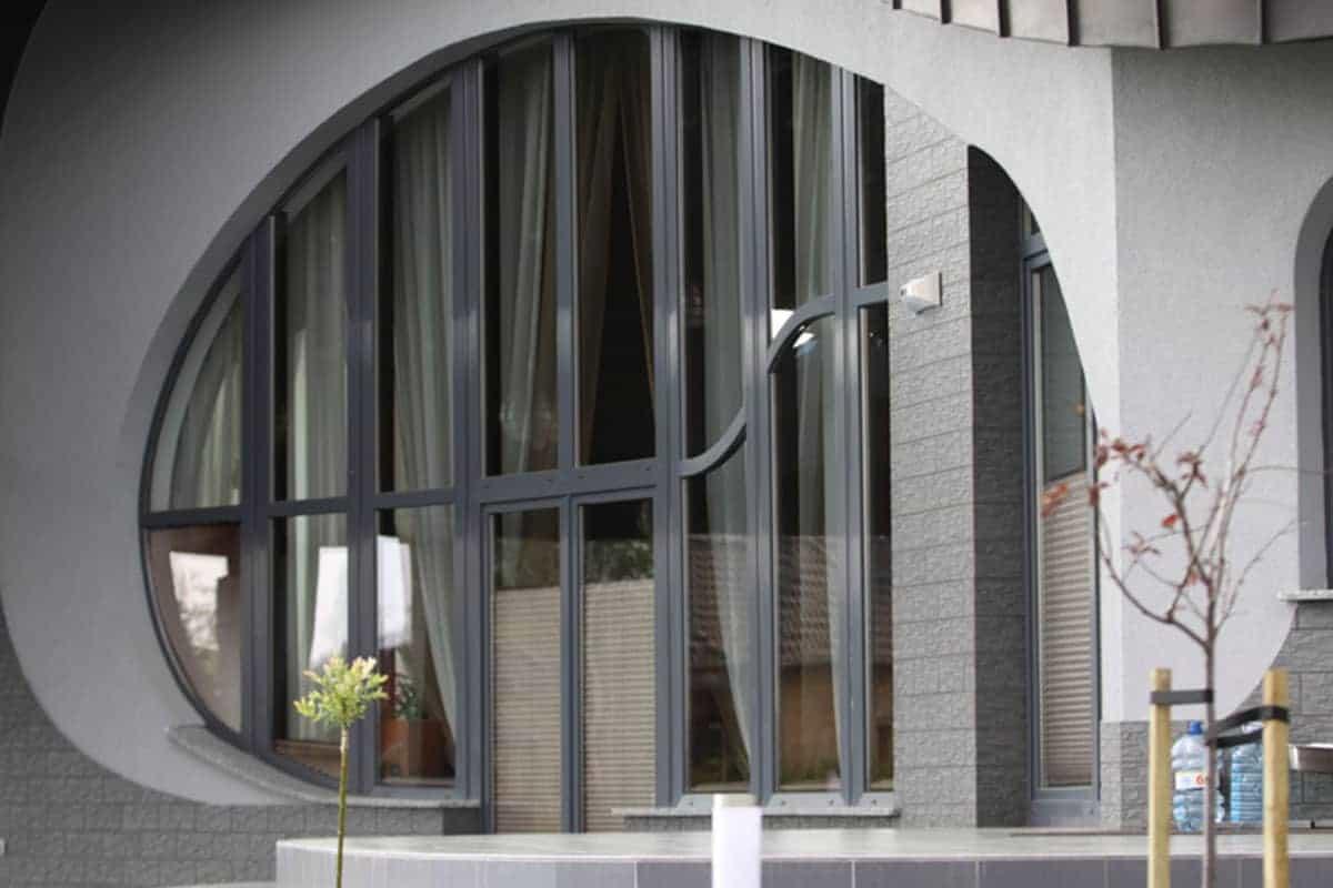 Okna Stolmar dla domu w Osielsku.