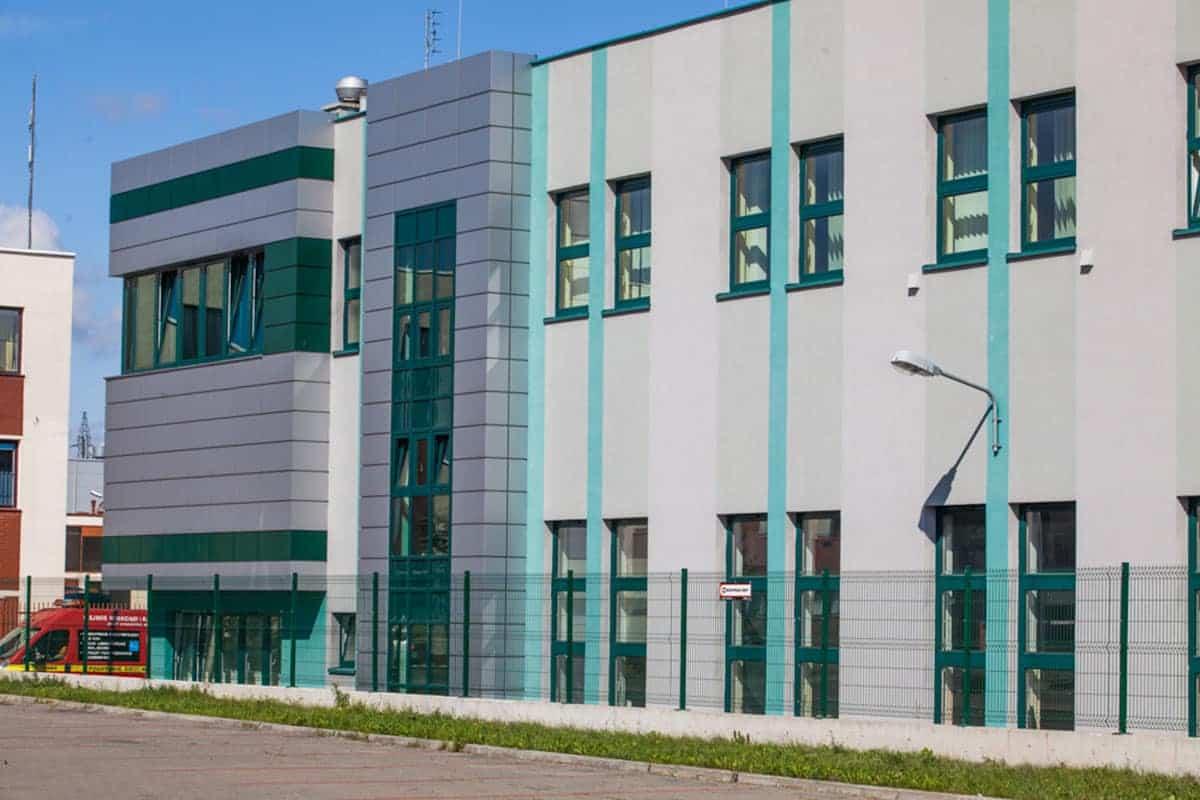 Okna Stolmar dla Wodociągów.