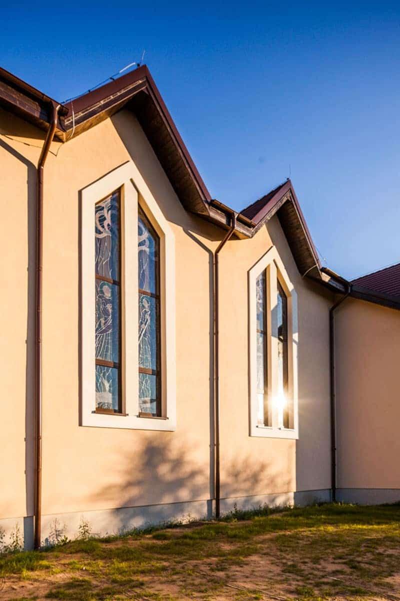 Okna Stolmar dla Parafii pw. bł. Michała Kozala Biskupa i Męczennika.